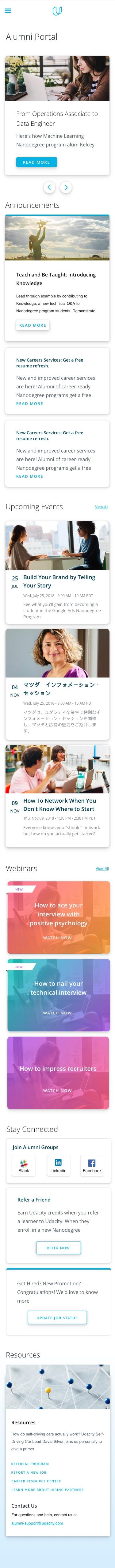 Udacity_alumni_mobile